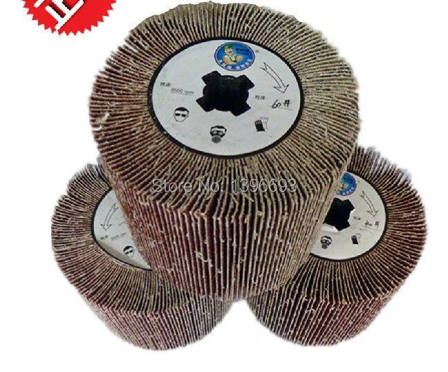 Emery cloth wheel, polishing wheel of Electric wire drawing polishing machine for stainless steel mirror polishing treatment.