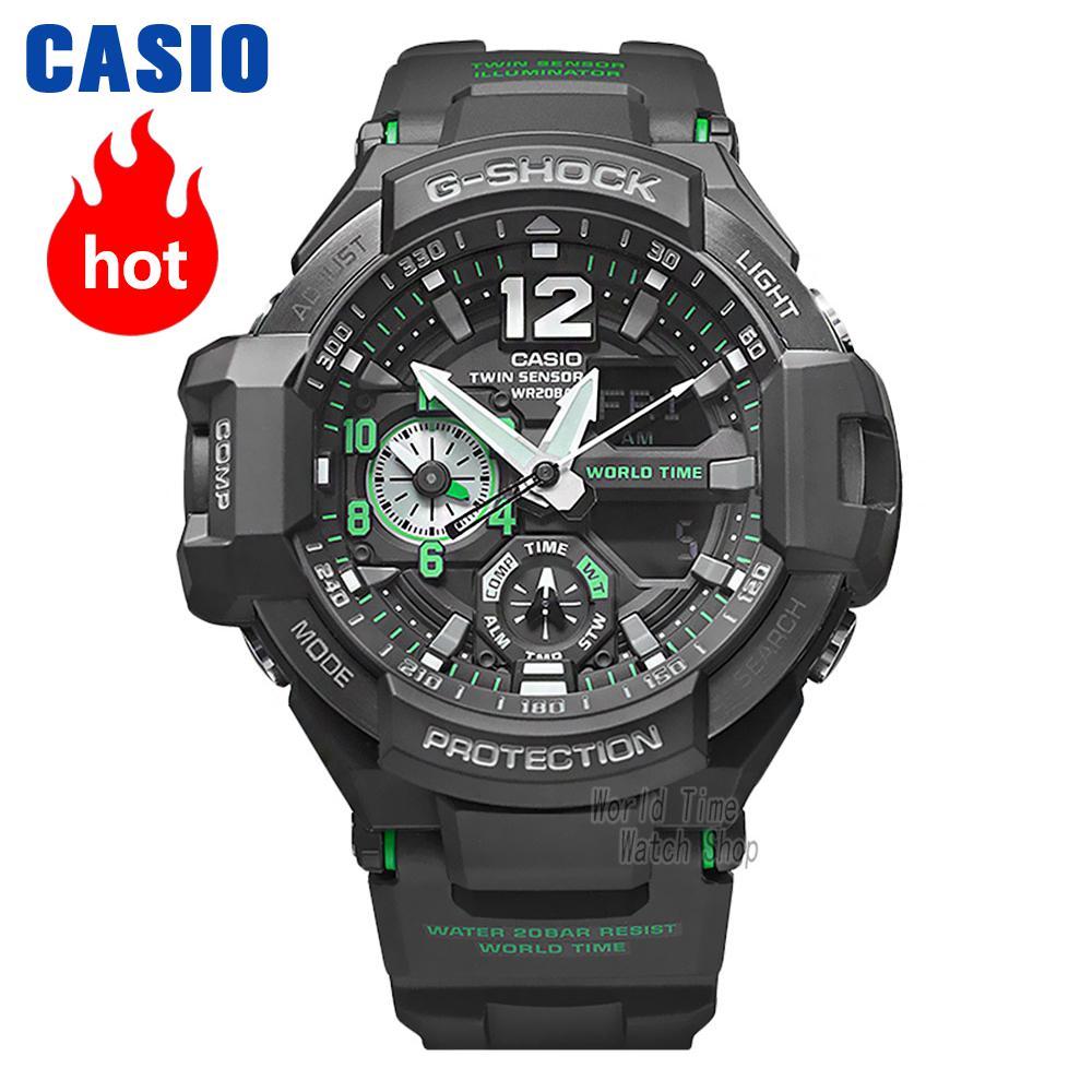 Casio watch Casual sports multi-functional waterproof men's fashion watch GA-1100-1A GA-1100-1A3 GA-1100-2A GA-1100GB-1A casio ga 1100 1a3