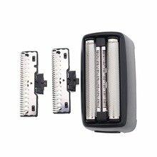 Yedek tıraş makinesi Philips tıraş makinesi için QS6161 /33/34 QS6141 /33/41 bıçak örgü aksesuarları