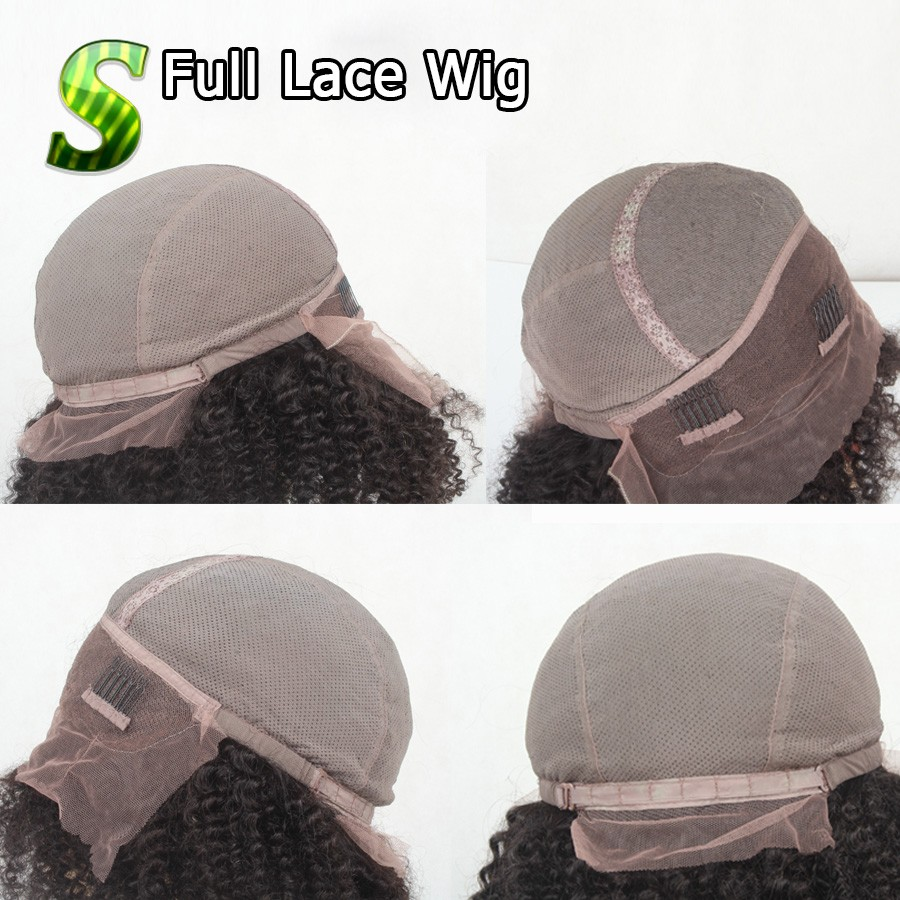 cap full lace wig