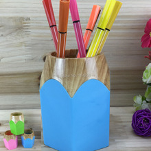 купить Plastic Desk Tidy Novelty Design Pen Holder Office Accessories Pen & Pencil Container Desktop Decoration Various Organization дешево