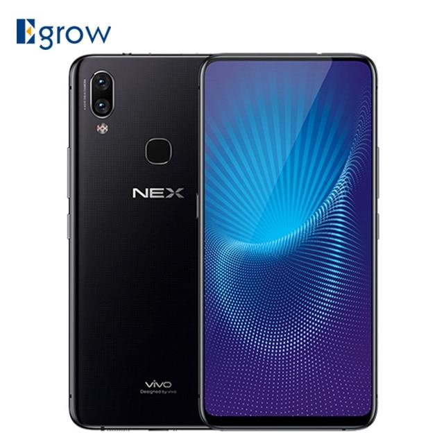 "VIVO NEX Screen Fingerprint Cellphone 8GB 128GB Snapdragon 845 Smartphone Octa Core 6.59"" OLED Full Screen Auto-Elevated Camera"
