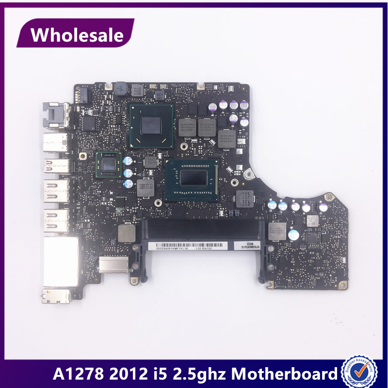 Wholesale For Macbook Pro 13 A1278 2012 Year i5 2 5GHZ Md101LL A Logic Board laptop