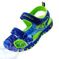 Boys Shoes 2019 Summer Anti Slip Children's Shoes Anti impact Boys Sandals Children Beach Sandals Kids 3D Dinosaur Sandals