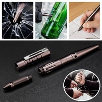 High Quality Portable EDC Tactical Pen Durable Aluminum Alloy Outdoor Self De Fense Camping Emergency Tools
