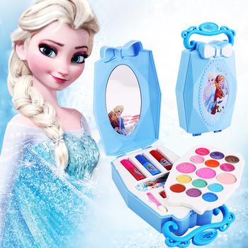 Dziewczyny mrożona śnieżna księżniczka elsa anna uroda makijaż zabawki z pudełkiem lakier do paznokci cień do powiek zagraj w makijaż modne zabawki tanie i dobre opinie Disney D22610A 5-7 lat Dorośli 2-4 lat 14 Lat i up 8 ~ 13 Lat Fantasy i sci-fi take care