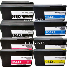цены 8x Compatible hp 954 XL Replacement ink cartridge for OfficeJet Pro 8710 8720 8740 8730 All-in-One Printer