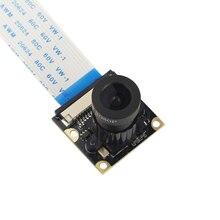 Raspberry Pi 3B + 5Mp Megapixel Nacht Kamera Ov5647 Sensor Weitwinkel Kamera Modul für Raspberry Pi 3 Modell B/2 (Weitwinkel Cam