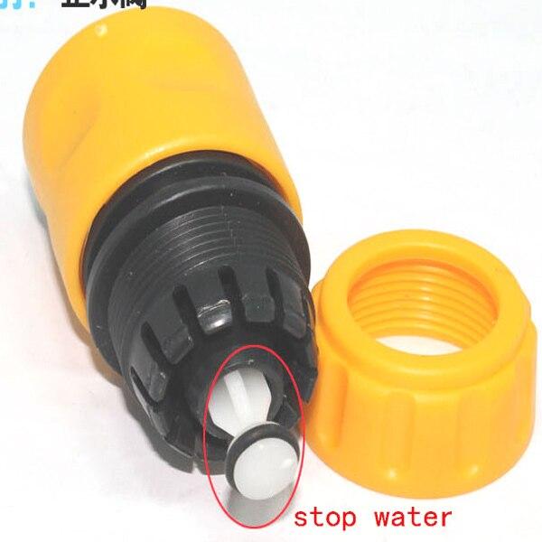 1 inch garden hose. 10PCS 1/2 Inch Water Gun Quick Stop Connector Garden Hose Pipe Connector-in Connectors From Home \u0026 On Aliexpress.com | Alibaba 1 E