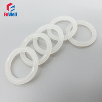 O Ring Seals White Silicon Food Grade 3mm Thickness 155/160/165/170/175/180/185/190/195/200mm OD O-rings Seals Gasket Washer