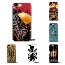 Wolverine Marvel Mềm Mại Trong Suốt Có Cho Xiaomi Mi3 Samsung A10 A30 A40 A50 A60 A70 Galaxy S2 Note 2 grand Core Prime(China)