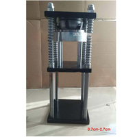 New Arrival Press Machine Manual Hydraulic Locking Machine 6mm 13mm Withholding Machine 0 7cm 2 7cm