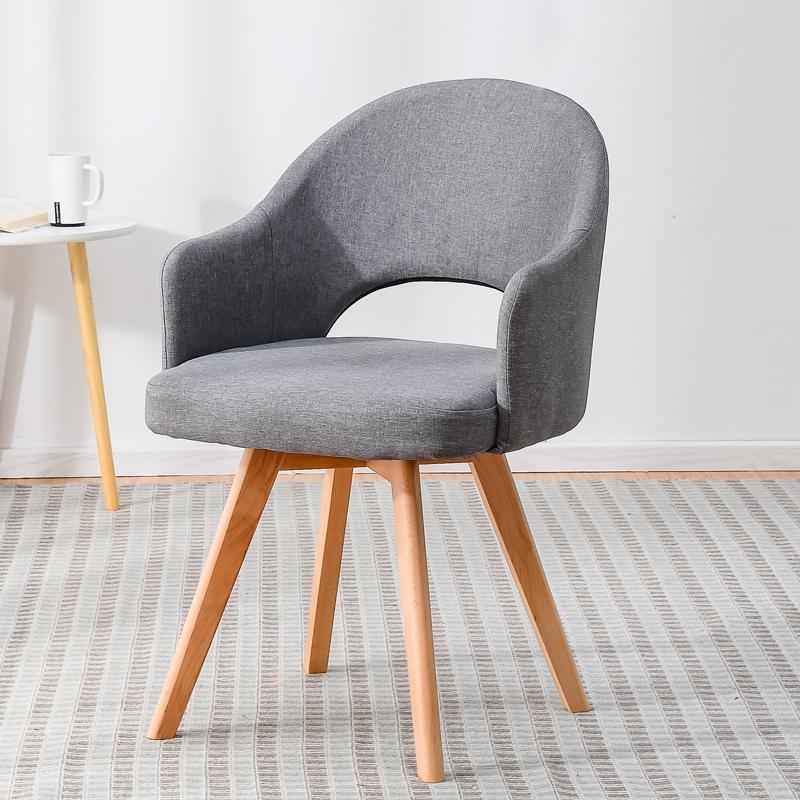 Современный простой стул для ленивых в скандинавском стиле, деревянный стул для ресторана, стул для обучения, простой стол и стул - Цвет: style 13