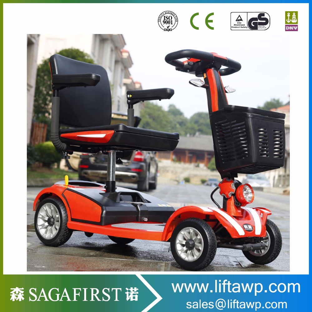2018 New Foldable E Motorcycle Full Suspension Electric Mobility Scooter CE Standard