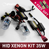 Car Styling 1 Pair 35W H3 Bulb HID Xenon Lamp Light Car Headlight Replacement 12000K