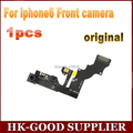 1 unids Original para iphone6 cámara delantera de la inducción fotosensible con flex cable envío gratuito