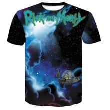 funny man t-shirts rick and morty anime 3D Print Cool Tshirt Men/Women Short Sleeve menswear 2019New  mens shirt male Tees Tops
