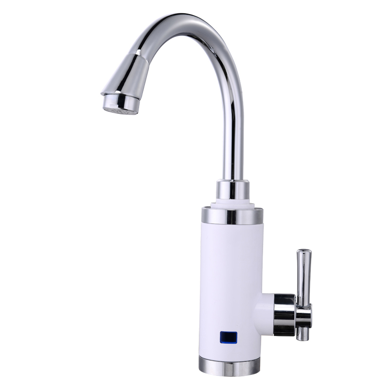 Tankless Instantaneous Water Heater Faucet Kitchen Tap Instantane Heating Hot Water Torneira With EU Plug S3DC