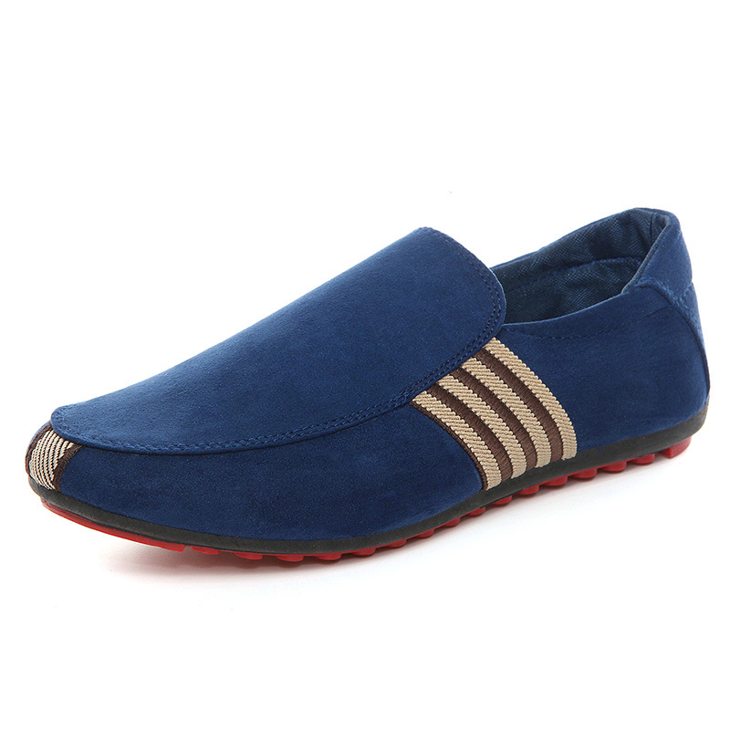 Ventilation Men Casual Canvas Red Bottom Shoes