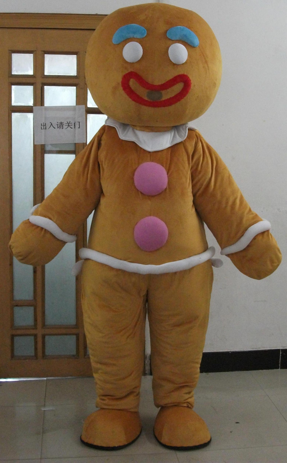 Online Shop adult Christmas gingerbread man costume mascot | Aliexpress Mobile & Online Shop adult Christmas gingerbread man costume mascot ...