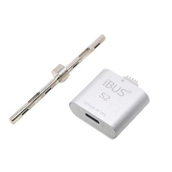 Oityn iBUS S1 iBUS S2 fecha cable adaptador de cable restaurar reparación y soporte para Apple Watch Series 1 y 2 38mm (N74ap) 42mm (N75ap)