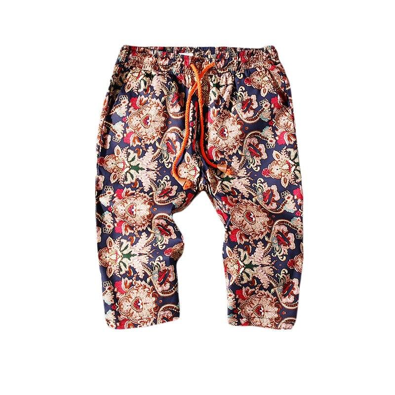 2018 Unicorn Wind Online Printing Seven Part Leisure Time Pants gloria jeans hip hop new listing fashion Collocation city boy
