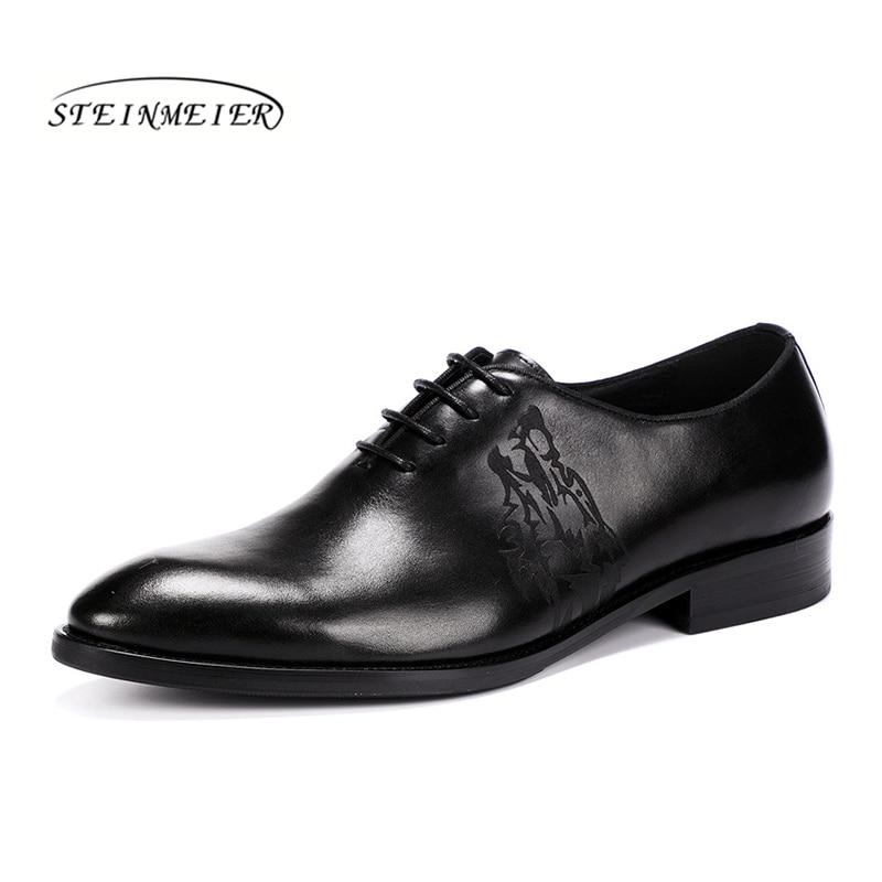 Slipon Marca Apartamentos Couro Casuais Black brown Para Primavera Homens Sapatos Luxo Laços Genuíno Vestido Oxford De Verão Casamento 4zxXwqUU