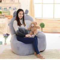 Fancytrader Riesigen Ausgestopften Totoro Plüsch Sofa Tatami Pop Anime Luxus Cartoon Japan Katze Bett Stuhl für Kinder Erwachsene