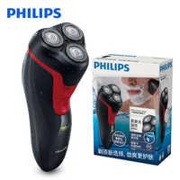 100% Afeitadora eléctrica Original Philips FT688 giratoria con batería recargable Ni-MH lavable mango ergonómico cabezas flotantes 3D