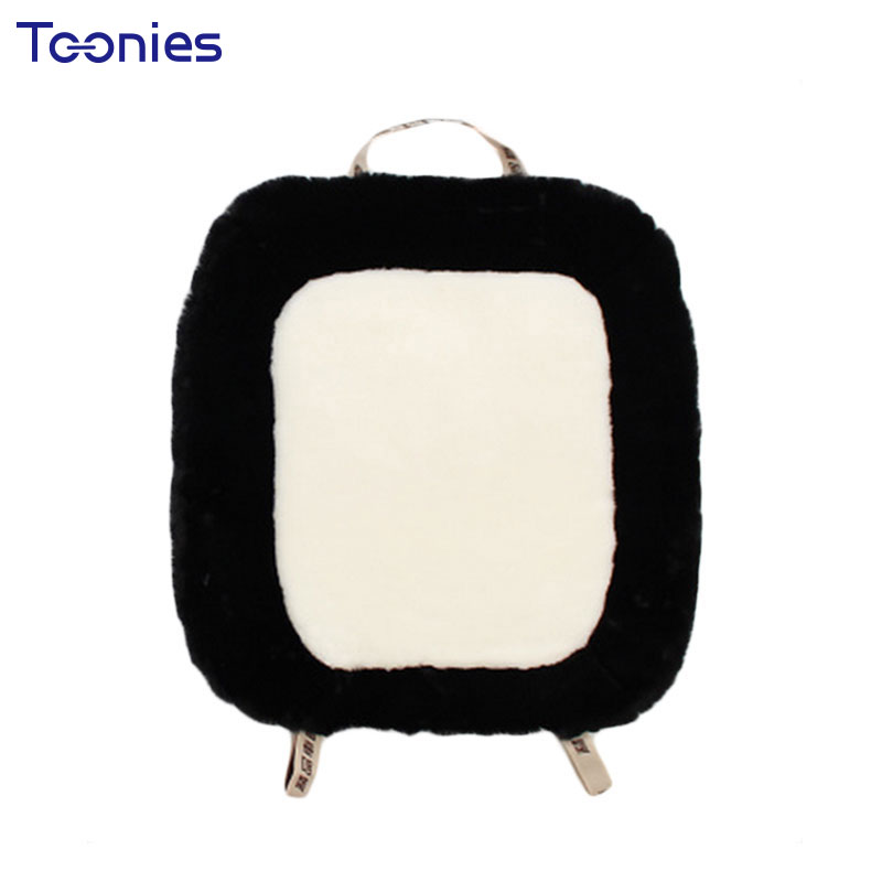 New One Piece Auto Car Cushion Plush Smart Fortwo Forfour Cushion Cars Cushions Interior Accessories Automobiles Seat Covers