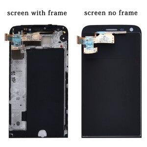 Image 2 - Display Für LG G5 LCD Touch Screen mit Rahmen Digitizer Für LG G5 LCD Ersatz Bildschirm Für LG G5 Display original 5,3 H850