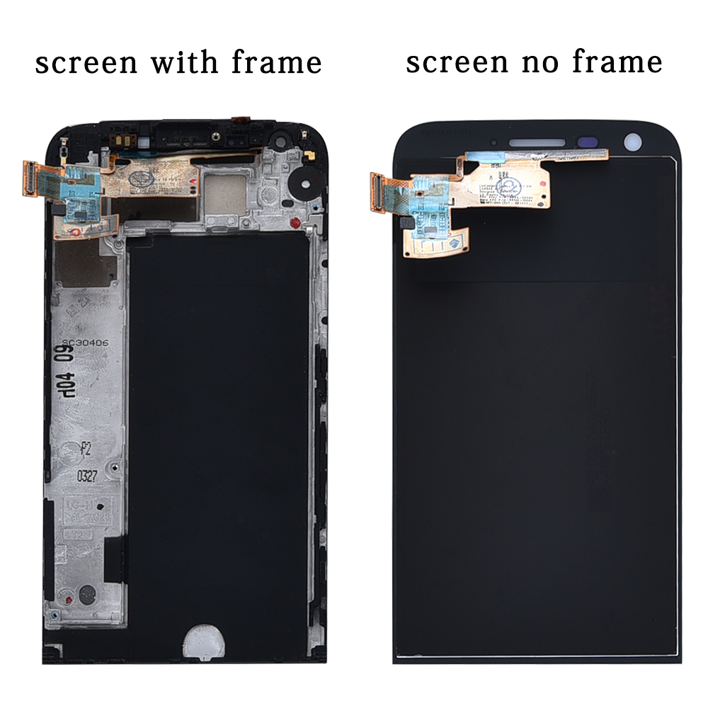Image 2 - Display For LG G5 LCD Touch Screen with Frame Digitizer For LG G5 LCD Replacement Screen For LG G5 Display Original 5.3'' H850-in Mobile Phone LCD Screens from Cellphones & Telecommunications