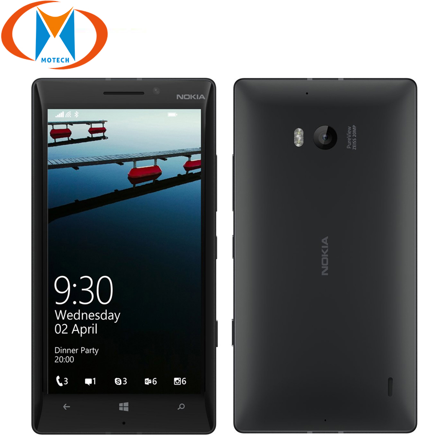 Brand New Original Nokia Lumia 930 EU Version Mobile Phone 4G 5 Snapdragon 2GB 32GB Microsoft