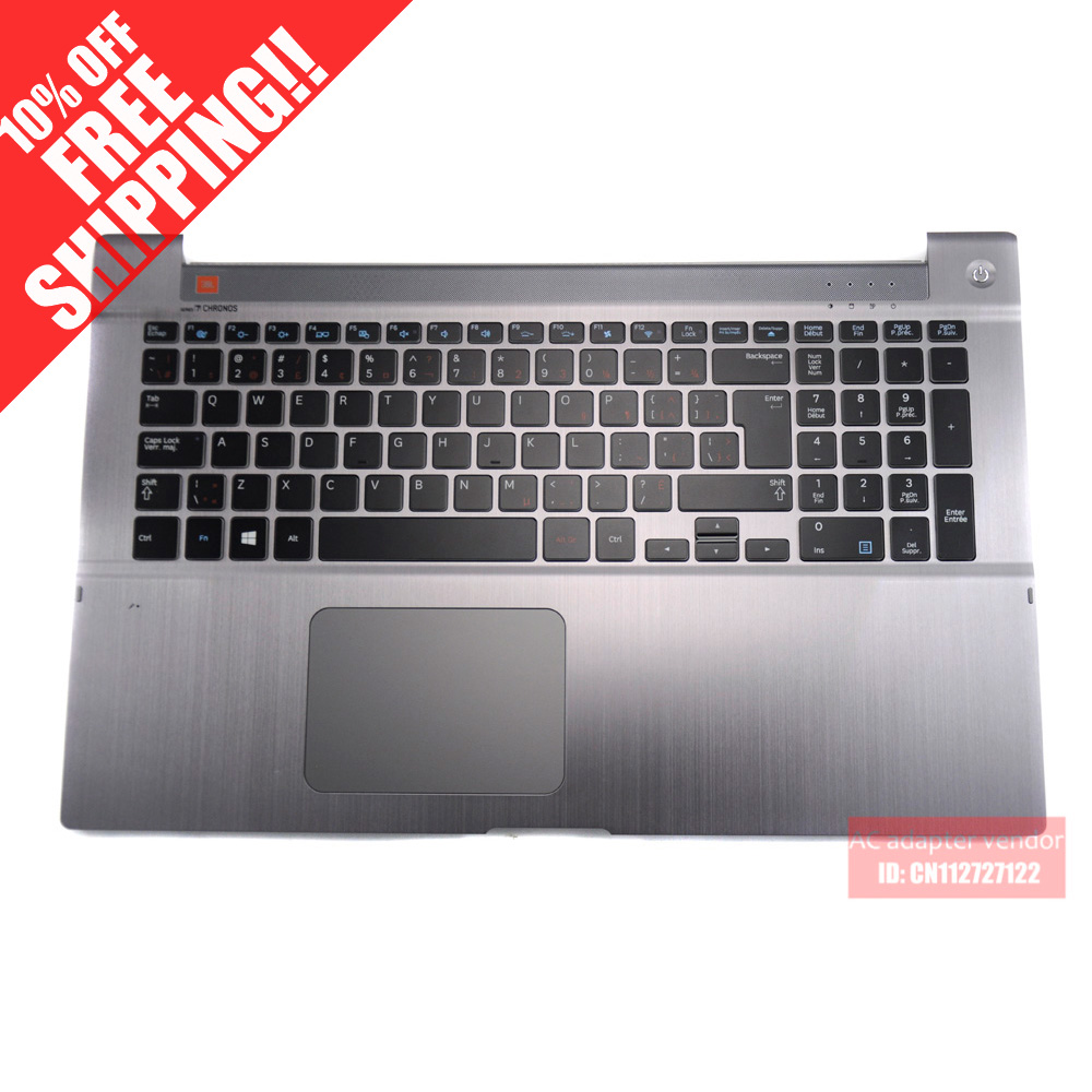 FOR Samsung NP700Z7C notebook keyboard with c shell with backlight CA