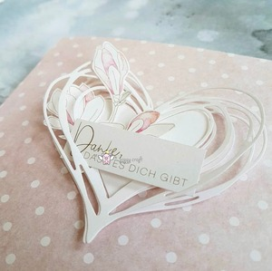 Image 3 - Matrices de découpe en métal artisanal, moule de découpe en forme de cœur décoration Scrapbook en papier, couteau artisanal, moule de lame, pochoirs de poinçon