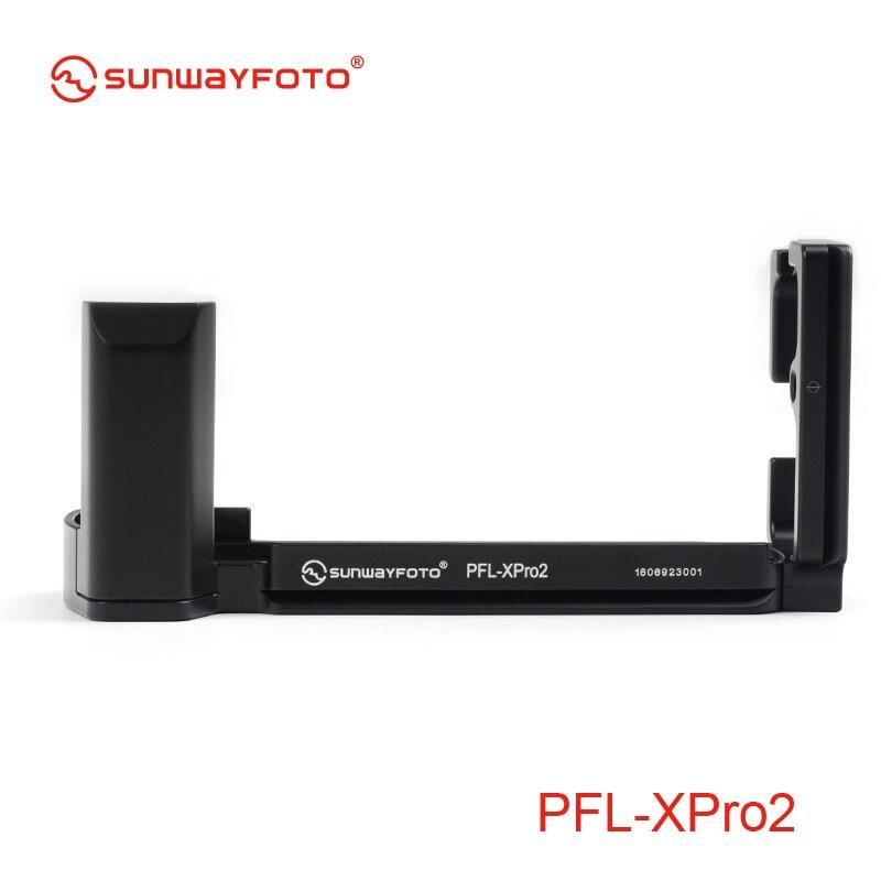 bilder für Sunwayfoto pfl-xpro2 stativkopf schnellwechselplatte für fuji x pro2 xpro2 l-winkel spezifische aluminium schnellwechselplatte