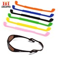 DeDing Hot Silicone Eyeglasses Straps Glasses Sunglasses Sports Band Cord Holder New Reading Glasses Lanyards Pack Of 6 DD1272-1