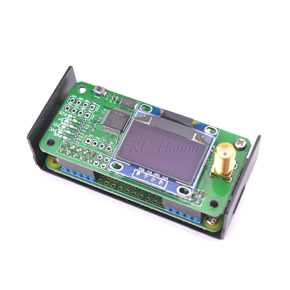 jumbospot MMDVM hotspot Support P25 DMR YSF raspberry pi OLED Antenna 16G TF card READY TO QSO (9)