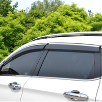 High Quality 4 Pcs Set SPORTAGE R Wind Rain Sun Guards Visor Vent Awnings Shelters For