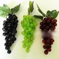 Wholesale 60 grain Bunch Lifelike Artificial Grapes Plastic Fake Decorative Fruit Food Home Decor Free shipping