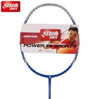 DHS Original G560A FULL CARBON Badminton Racket 4U With String Bag