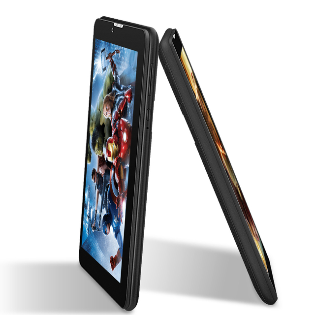 Yuntab 7 ''E706 GPS Tableta de Doble SIM Tarjeta Mini 1.3 GHz Quad núcleo Cortex A7 1024*600 IPS de Doble Cámara de 1 GB + 8 GB Del Teléfono Tableta de la Llamada PC