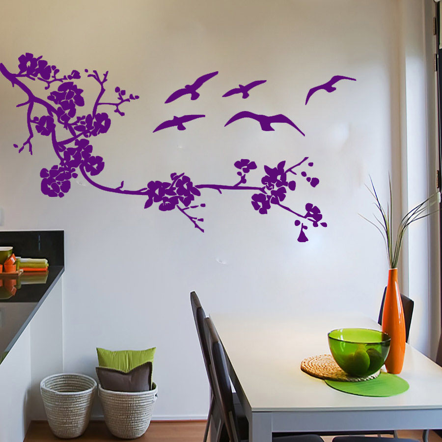 Online Get Cheap Bird Kitchen Decor Aliexpresscom Alibaba Group - Diy wall decor birds