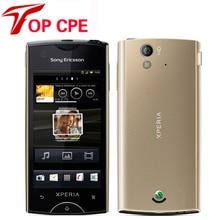"St18 Оригинал Sony Ericsson Xperia Ray St18i Сотовый Телефон Android GPS WIFI 8mp 3.3 ""сенсорный экран восстановленное смартс телефон"