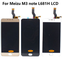 Meizu L681h LCD Display Touch Screen Digitizer Assembly For 5 5 MEIZU M3 Note L681H LCD