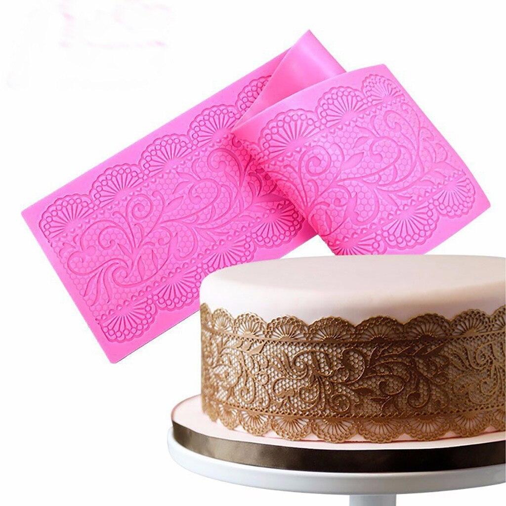 2Pc Fondant Décor Gâteau Cuisson Chocolat Moule Sucre Sugarcraft Cuisine Outils