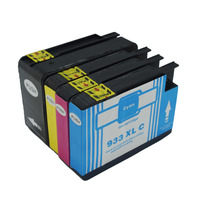 4x Compatible For HP 932 933ink Ink Cartridges 932XL 933XL OfficeJet 6100 6600 6700 7110 7610