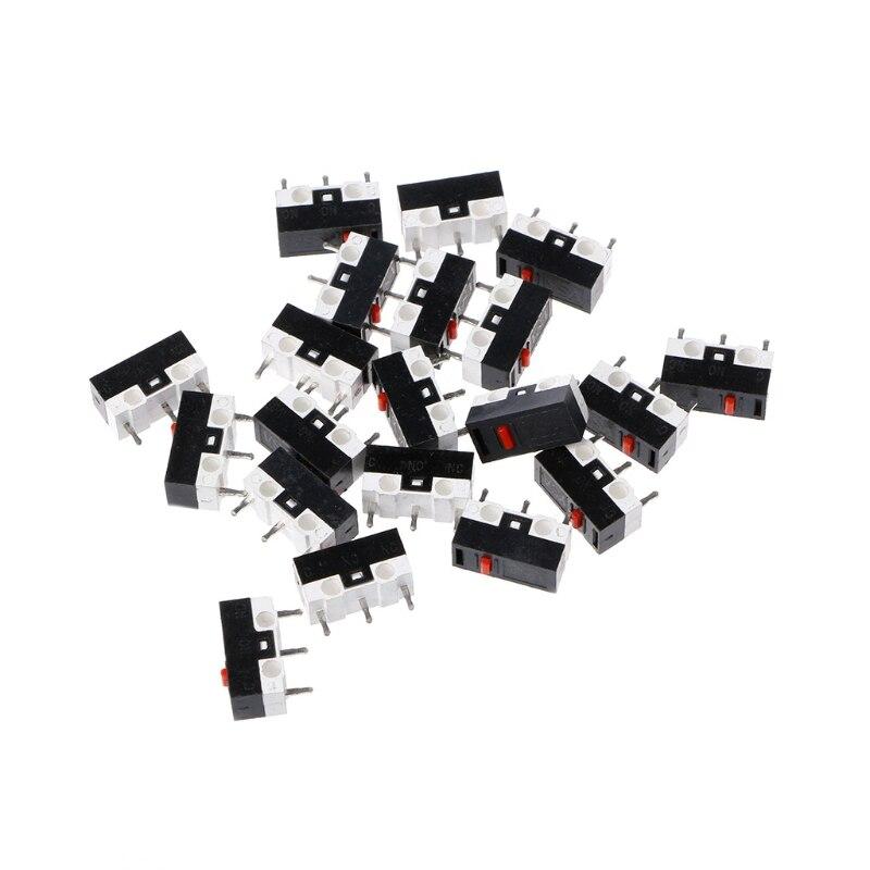 10 Piezas Interruptor De Botón Interruptor Del Mouse 3pin Microinterruptor Para Razer Logitech G700 Ratón Nuevo CatáLogos SeráN Enviados A PeticióN