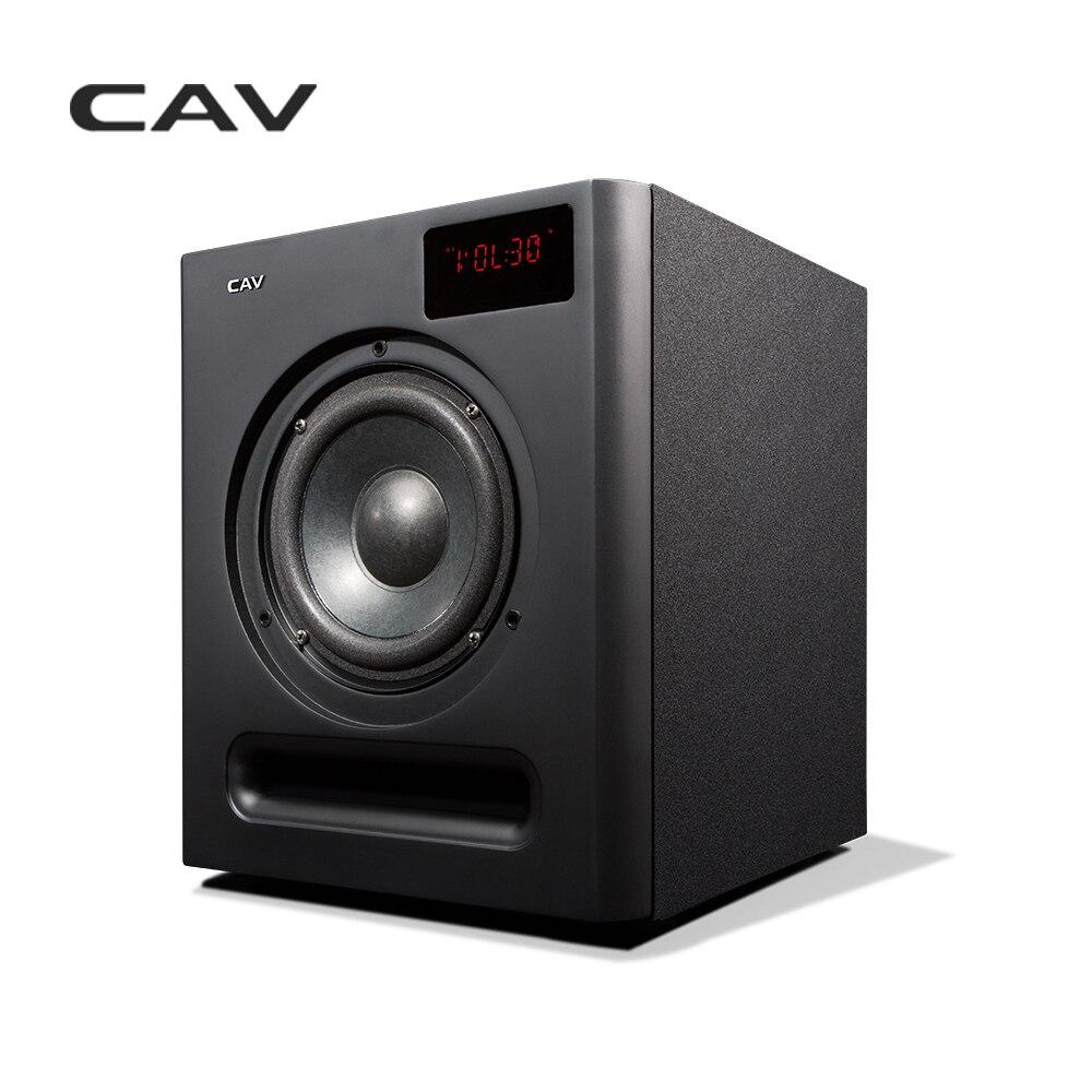 CAV SW360B Subwoofer Haut-Parleur 6.5 pouces 2.4g Bluetooth 3.1 Coaxial AUX Usage Domestique Basse Audio HQ 3.1 Subwoofer haut-parleur