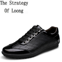 Genuine Leather Men Shoes 2015 New Arrival Fashion Comfortable Low Calf Man Sneakers Casual Men Shoes
